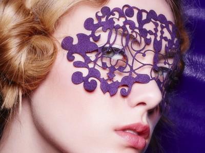 Nouvue Suede Mask - Violet Vixen