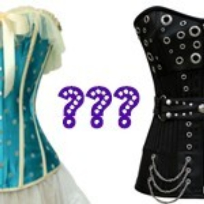 Costume corsets compared to authentic corsets